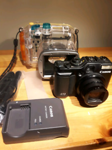 Canon G10 with WP-DC28 waterproof case