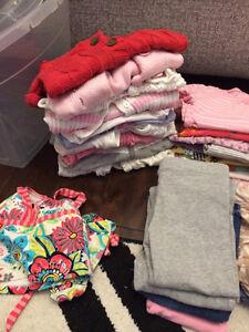 Lot vêtements de filles