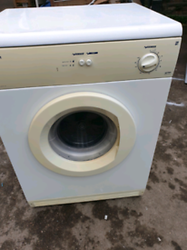 WHITE KNIGHT 427WV VENTED TUMBLE DRYER (6KG)(VENT PIPE INCLUSIVE)