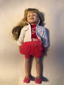 Maplelea doll (Brianne) plus bed, clothes and accessories