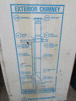 2-Chimney diameters pipe 8'' x 36'' inches Brand New Model 8XL3