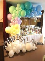 Balloon décor, bouncy castle, Face painting, Airbrush,Caricature