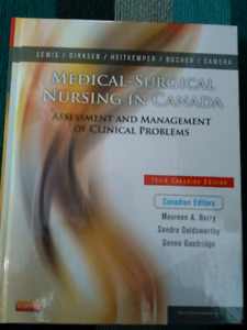 Medical- Surgical Nursing in Canada (3rd Canadian Ed)