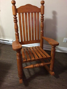 Rocking chair perfect for baby's room or living room!
