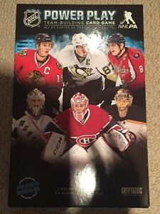 NHL Power Play Team-Building Card Game - brand new