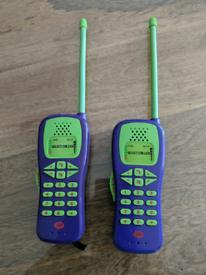 Toys - walkie talkies
