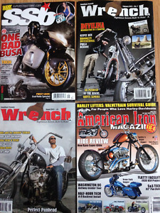 Motorcycle Magazines 2012 to 13