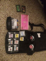 NINTENDO DS LITE, GAMES, AND ACCESSORIES