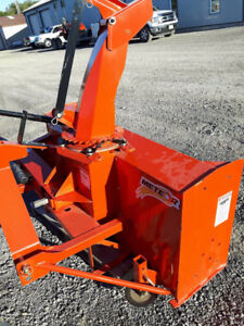 "60"" Meteor Snowblower- only one unit left!"