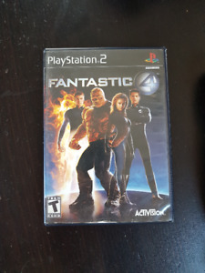 Fantastic 4 Game for Playstation 2