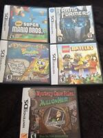 Nintendo DS games *with case and instruction booklet*