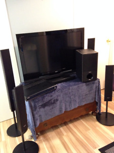 "40"" Sony Bravia LCD Digital Colour TV and Home Theatre System"