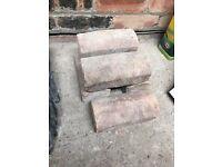 Various bricks (concrete block, coping stones etc)