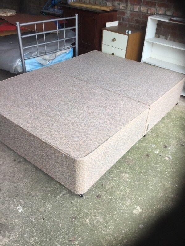 A Double Divan bed base