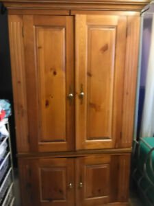 Wooden Wardrobe (Armoire) for sale