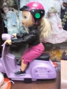 Barbie on Scooter,HEARTBEAT Thrift Store,BayView Mall,Belleville