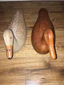 Hand-Carved Wooden Decoys, Prince Edward County