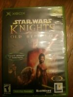 XBOX - Star Wars Knights of the Old Republic (KOTOR) à échanger