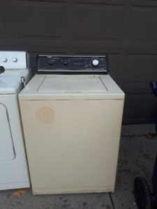Washer and Dryer - $150/both OBO or Trade for apt. size washer
