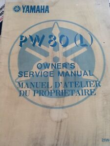 1984 Yamaha PW80L Owners Service Manual