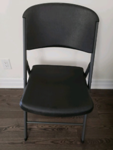 Folding chair and table