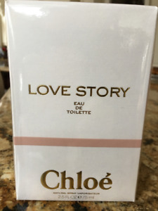 NEW Sealed CHLOE Love Story 75 ml Eau de Toilette EDT