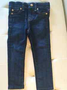 """""""7 for all Mankind"""" Toddler Girls Skinny Jeans, Size 3T"""