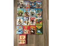 Children's DVDs including Disney and Dreamworks