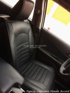 FULLY COVERED QUALITY WATERPROOFED LEATHER CAR SEAT COVER