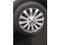 Rover 25 alloys