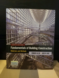 Fundamentals of Building Construction (Materials and Methods)