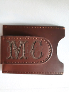 Wallet/Money Clip with MC engraving