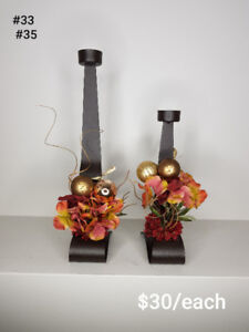 Christmas Artificial Floral Arrangements (Part II)