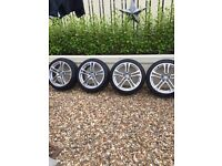 Audi / Vw alloy wheels 18 inch r8 golf caddy 5x112