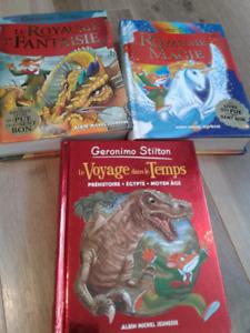 Plusieurs livres enfants et ado
