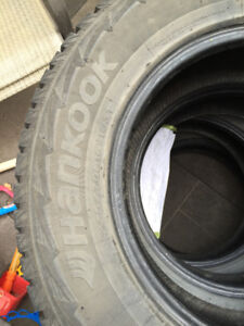 4 Hankook Pike RW11 Winter Tires (no rims)