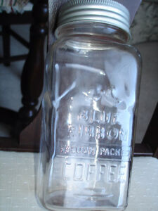SEALERS: BLUE RIBBON COFFEE JARS, VINTAGE AND GREAT STORAGE JARS London Ontario image 1