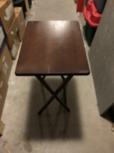 small folding table,19 inches x14 1/2