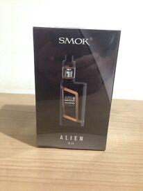 Smok alien 220w with genuine efest 3000mah batteries