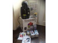 Tassimo T40 coffee machine plus extras