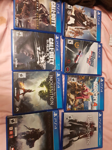 Ps4 games 25 each