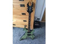 Extremely rare B.C. Rich beast body art limited edition