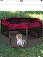 Foldable Pet playpen for dogs or cats