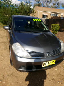 QUICK SALE NISSAN TIIDA MANUAL PASSED ACT REGO INSPECTION 8/11