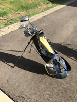right hand jr golf clubs with bag