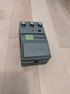 Ibanez TubeScreamer TS7 (with TS9 and 'hot' mode)
