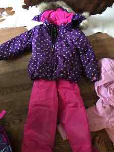 GUSTI snow suit for girls: size 6