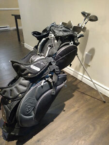 Golf bag with clubs West Island Greater Montréal image 1