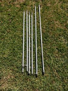 Tarp poles