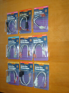 Car Speaker Wire Harness Adapters For Older Cars